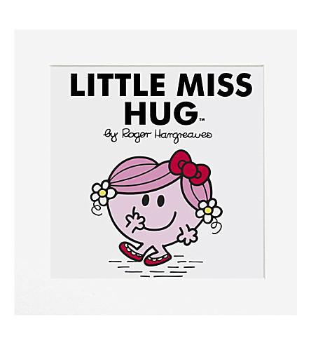 ART YOU GREW UP Little Miss Hug limited edition art print, unframed