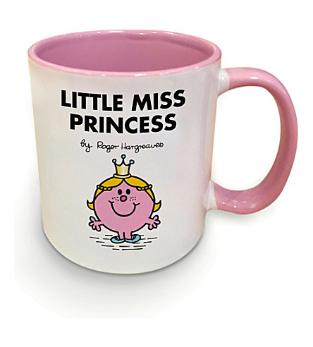 ART YOU GREW UP WITH Little Miss Princess ceramic mug