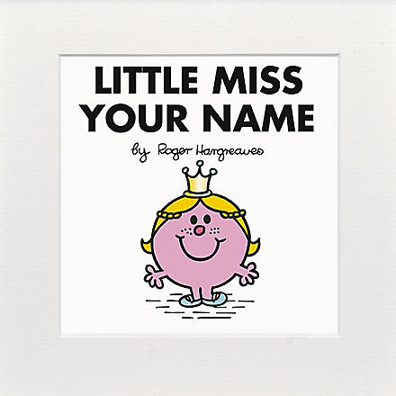 ART YOU GREW UP Little Miss Princess personalised print