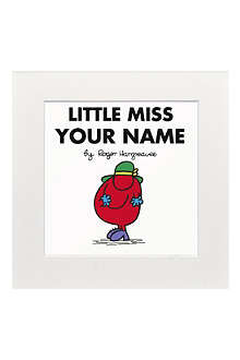 ART YOU GREW UP Little Miss Scatterbrain personalised print