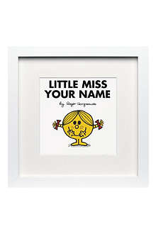 ART YOU GREW UP Little Miss Sunshine personalised framed print