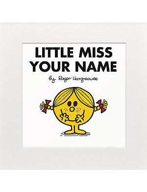 ART YOU GREW UP WITH Little Miss Sunshine personalised print
