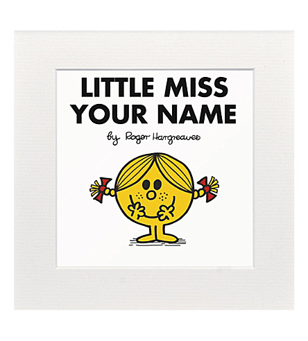 ART YOU GREW UP Little Miss Sunshine personalised print