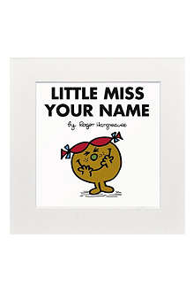 ART YOU GREW UP Little Miss Trouble personalised print