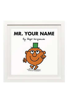 ART YOU GREW UP Mr. Clever personalised framed print