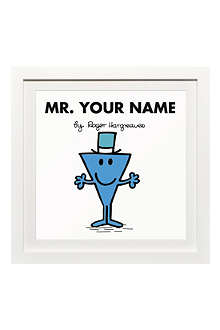 ART YOU GREW UP Mr. Cool personalised framed print