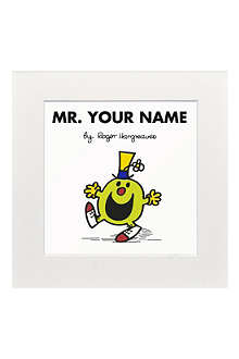 ART YOU GREW UP Mr. Funny personalised print