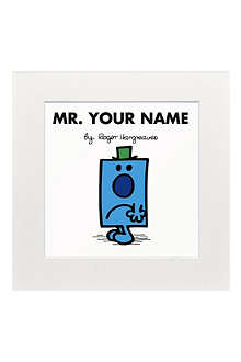 ART YOU GREW UP Mr. Grumpy personalised print