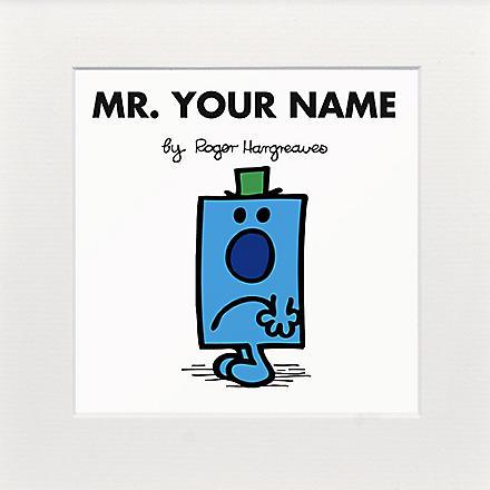 ART YOU GREW UP Mr. Grumpy personalised print