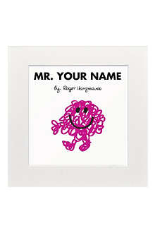 ART YOU GREW UP Mr. Messy personalised print