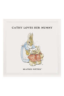 ART YOU GREW UP Loves Her Mummy personalised art print, unframed