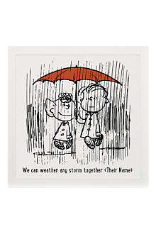 ART YOU GREW UP Weather Any Storm personalised art print, unframed