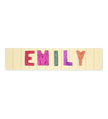 COCOMAYA Emily white chocolate bar 145g