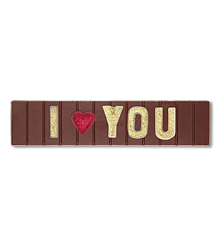 COCOMAYA I Heart You milk chocolate bar 145g