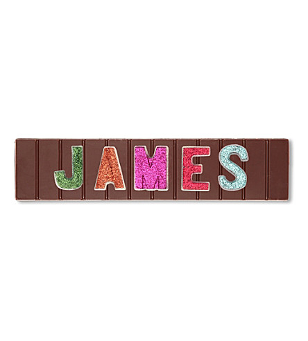 COCOMAYA James milk chocolate bar 145g