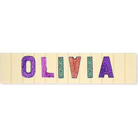 COCOMAYA Olivia white chocolate bar 145g