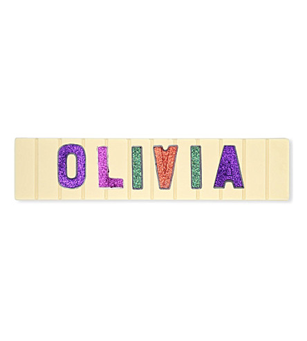 COCOMAYA Olivia white chocolate bar 145g
