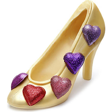 COCOMAYA 215g white chocolate shoe