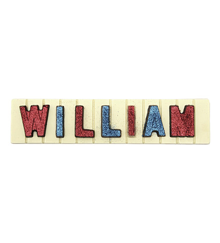 COCOMAYA 145g William white chocolate bar
