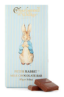 CHARBONNEL ET WALKER Peter Rabbit milk chocolate bar 85g