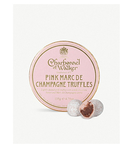 CHARBONNEL ET WALKER 粉红色马克 de 香槟松露135g