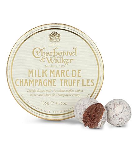 CHARBONNEL ET WALKER 牛奶马克 de 香槟松露135g