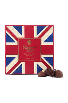 CHARBONNEL ET WALKER Union Jack dark milk chocolate 200g