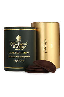 CHARBONNEL ET WALKER Dark mint thins 195g