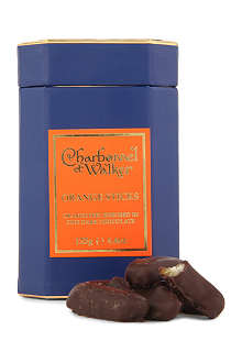 CHARBONNEL ET WALKER Dark chocolate orange sticks 125g