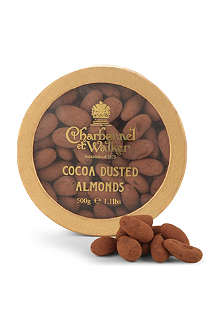 CHARBONNEL ET WALKER Cocoa dusted almonds 500g