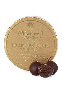 CHARBONNEL ET WALKER Dark chocolate and gold leaf truffles 115g