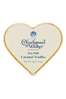 CHARBONNEL ET WALKER Milk sea salt caramel truffles 36g