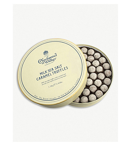 CHARBONNEL ET WALKER Milk Sea Salt Caramel truffles 1.1kg