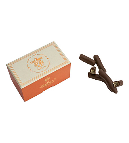 CHARBONNEL ET WALKER Fine Dark Chocolate Orange sticks 110g