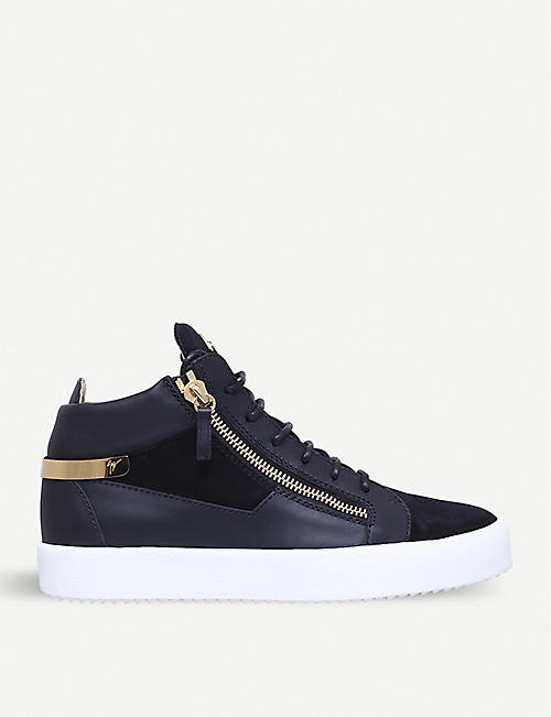 Charming Mens Giuseppe Zanotti Design Zip Detail Low Sneakers  Online Shop
