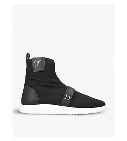 GIUSEPPE ZANOTTI Warren high-top trainers (Black