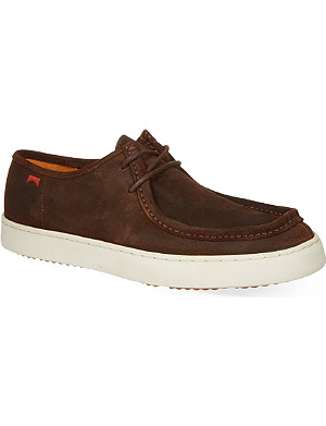 CAMPER Leather boat shoes
