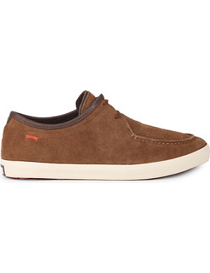 CAMPER Casual suede boat shoes