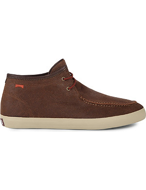 CAMPER Contrast sole leather boots