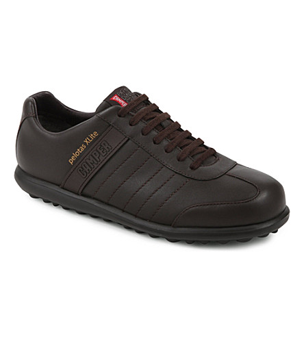 CAMPER Pelotas X Lite leather trainers (Brown