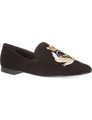GIUSEPPE ZANOTTI Crest slippers
