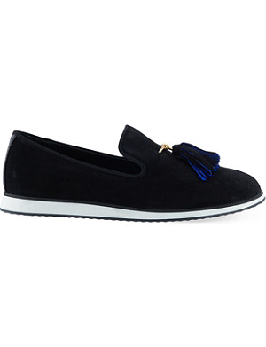 GIUSEPPE ZANOTTI Tassled slippers