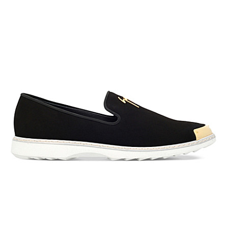 GIUSEPPE ZANOTTI Suede shoes (Black