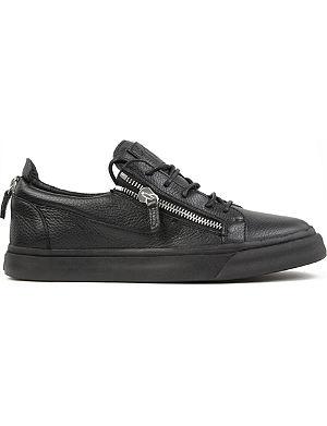 GIUSEPPE ZANOTTI Low-top zip trainers