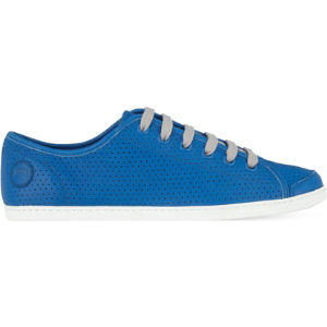 Uno perforated leather trainers