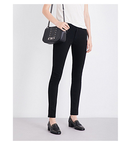 THE KOOPLES Billy skinny mid-rise jeans (Bla01