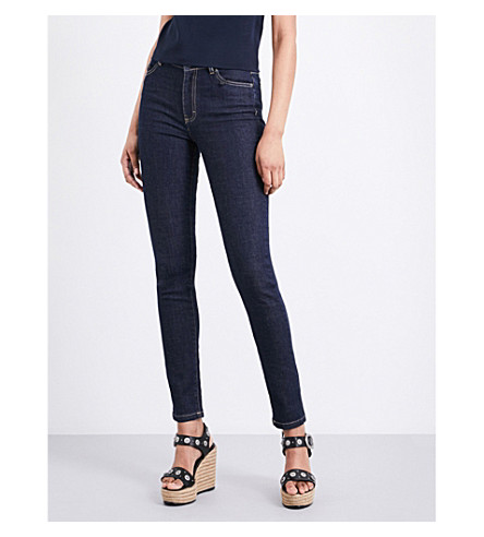 THE KOOPLES Franky skinny high-rise jeans (Blu02