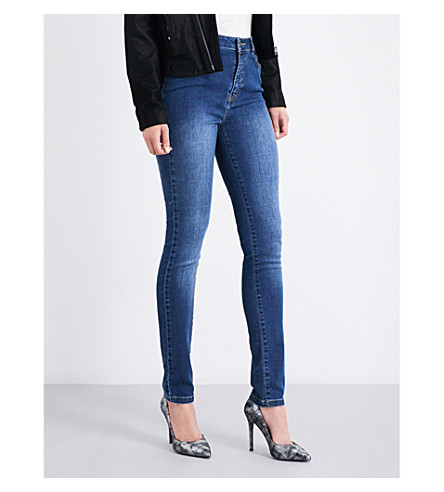 THE KOOPLES Franky skinny high-rise jeans (Blu88