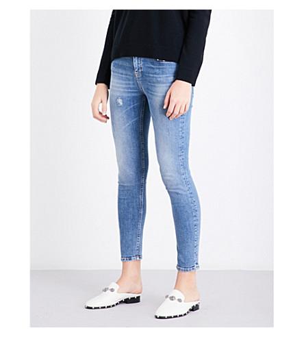 THE KOOPLES Billy skinny low-rise jeans (Blu88