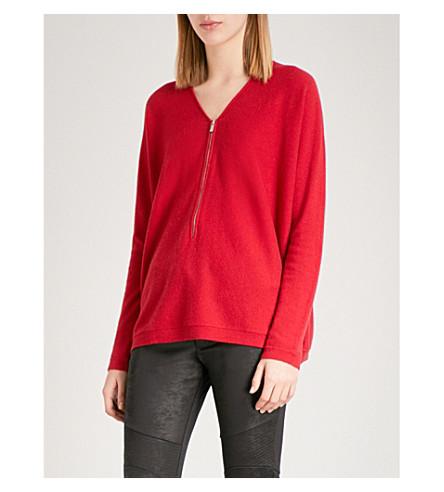 THE KOOPLES Elsa cashmere jumper (Red01